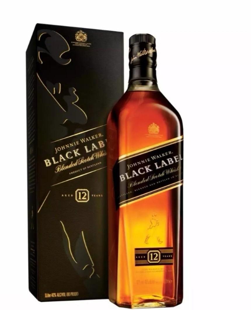 Johnny Walker Black 1.125 Litre