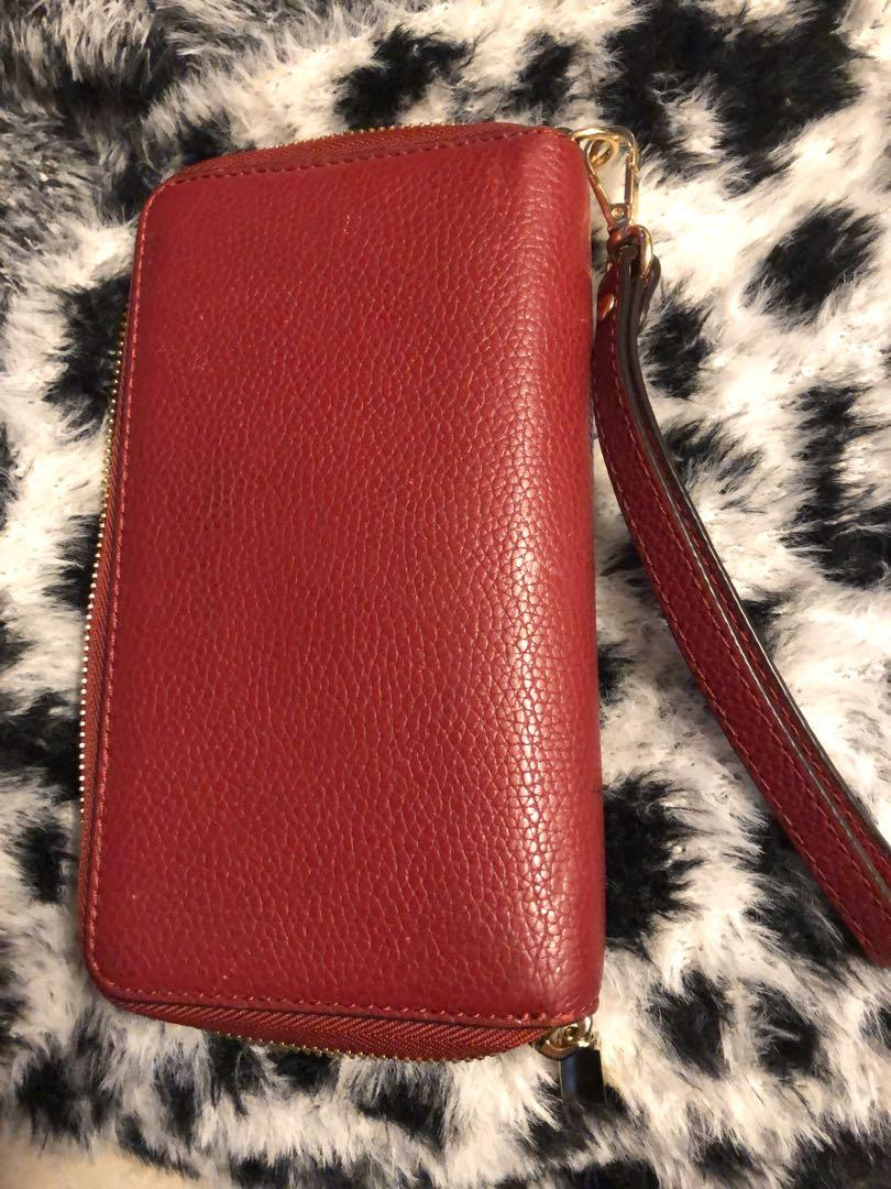 Michael Kors Mercer Large Leather Smartphone Wallet