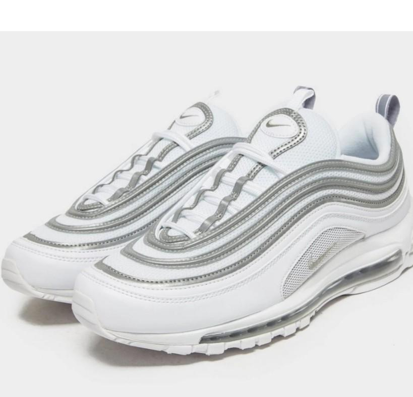 Nike Air Max 97 White Reflect Silver Men S Fashion Footwear