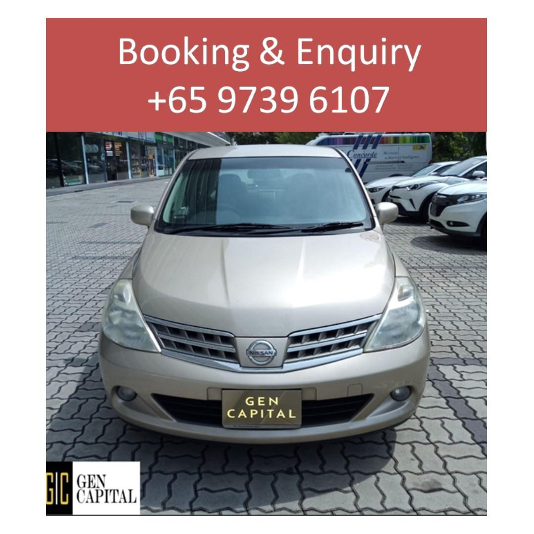 Nissan Latio - Anytime ! Any day! Your Decision!! Cheapest rates, full support!