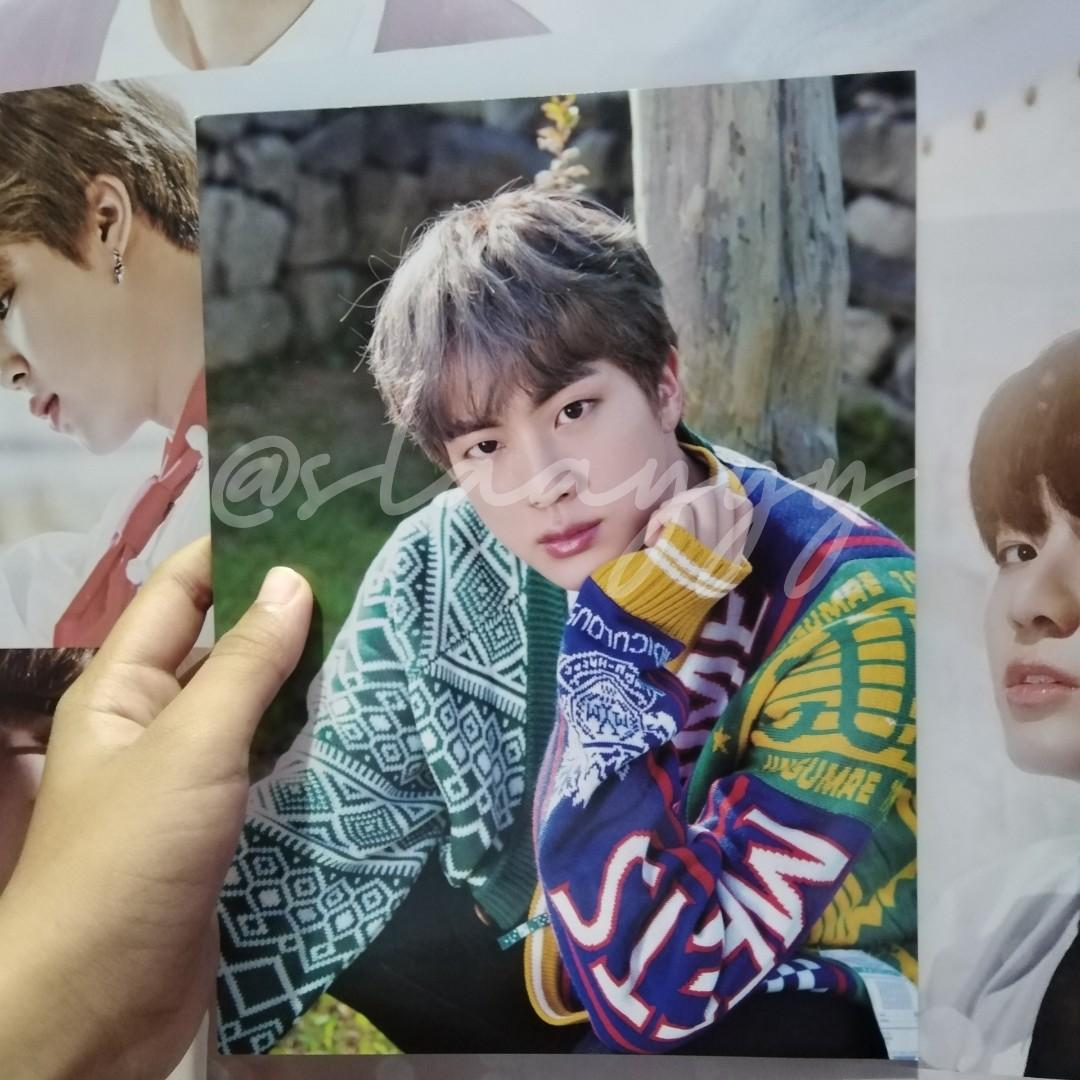 [Official] Jin Mini Poster Summer Package In Korea 2019