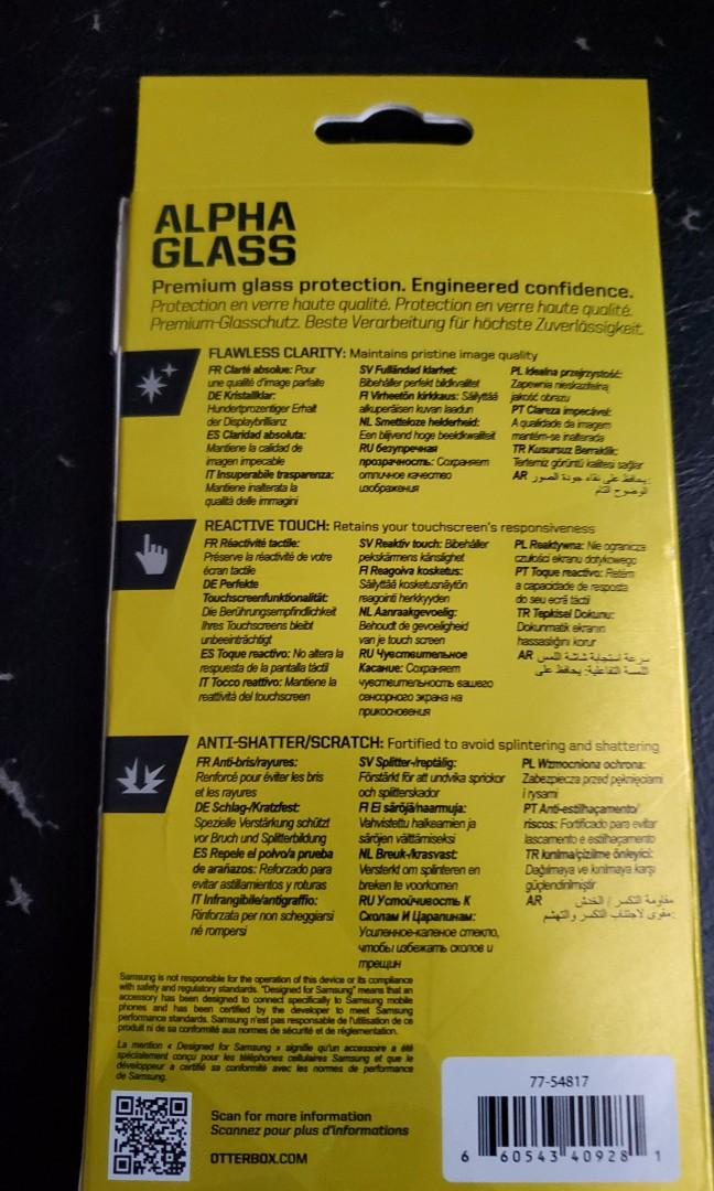 Otterbox Brand - SAMSUNG S8 Alpha Glass Screen protector