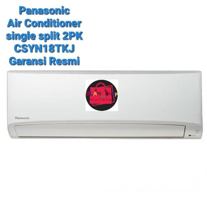 Panasonic AC Single Split 2PK CSYN18 Garansi