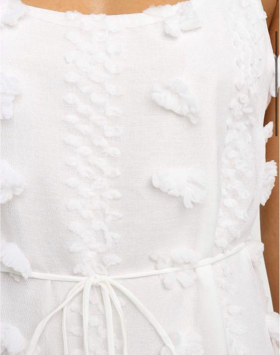Petal & Pup White Ray Dress - Size 10 - RRP $59.95