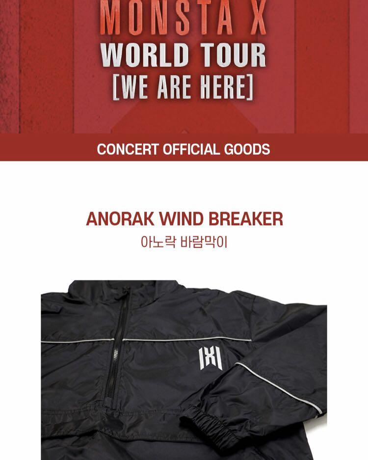 [PO] MONSTA X WORLD TOUR [WE ARE HERE] CONCERT OFFICIAL GOODS