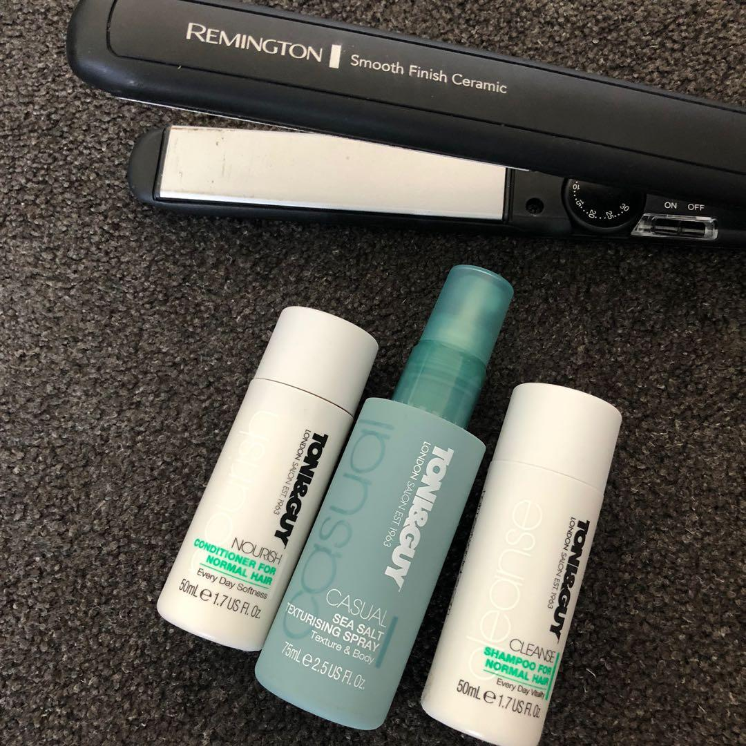 Remington Hair Straightener with brand new Toni & Guy