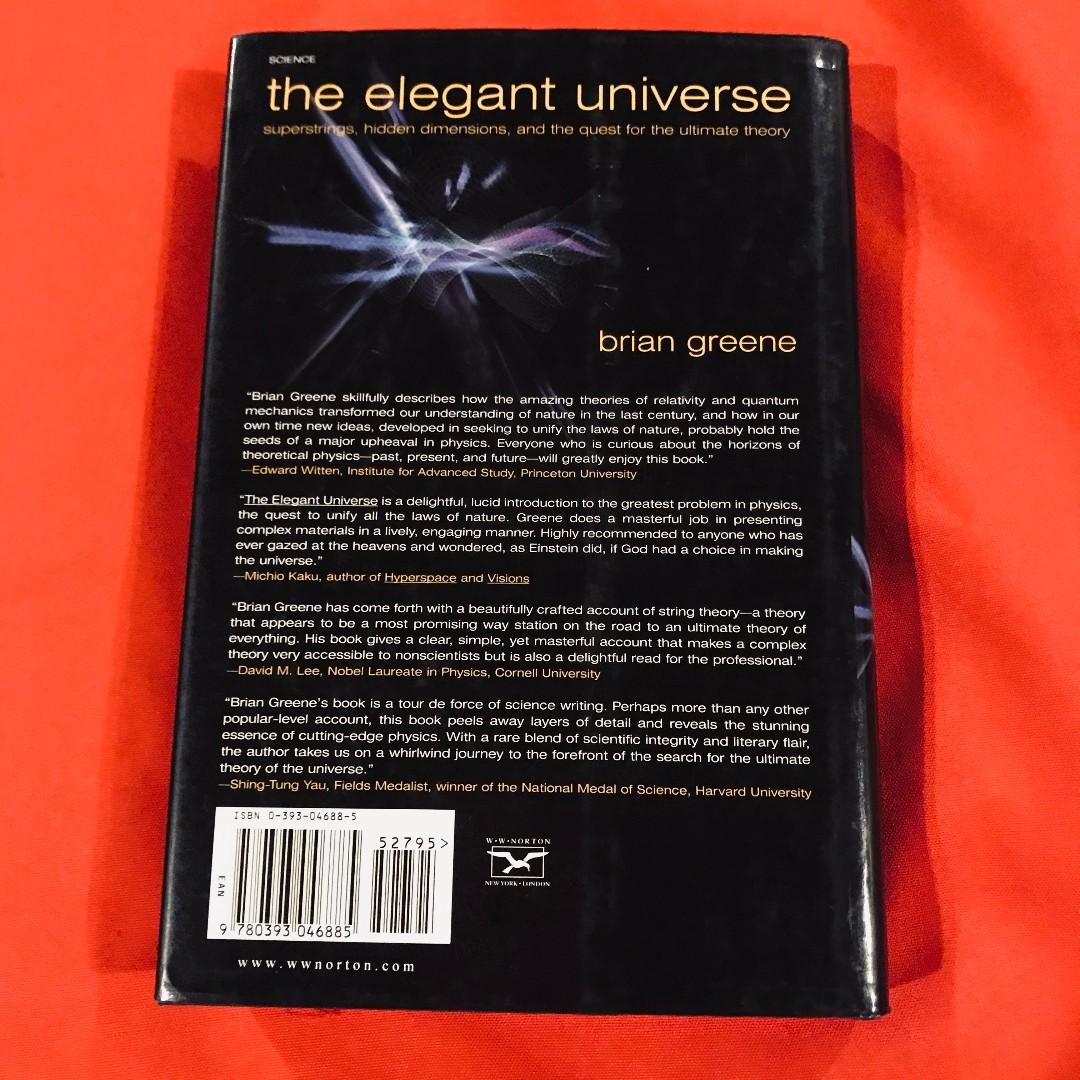 The Elegant Universe by Brian Greene  hardcover with dust jacket
