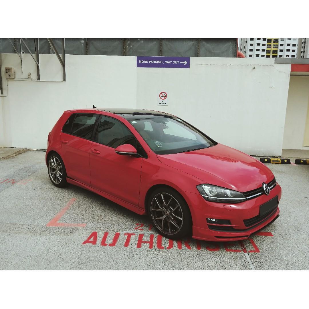 Volkswagen Golf 1.4 TSI EQP DSG Auto