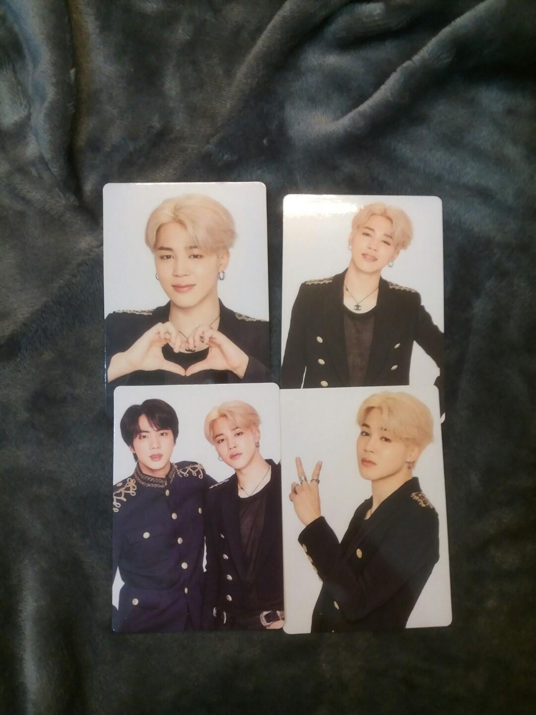 [WTS FAST] UNOFFICIAL JIMIN SPEAK YOURSELF JAPAN EDITION PHOTOCARDS