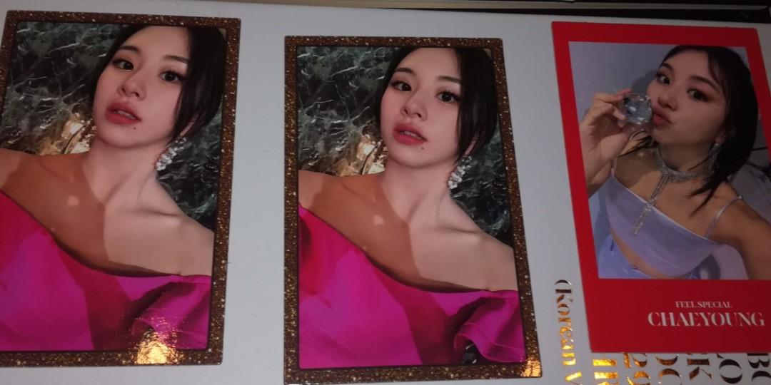 WTS Twice Feel Special gold cards & random photocards