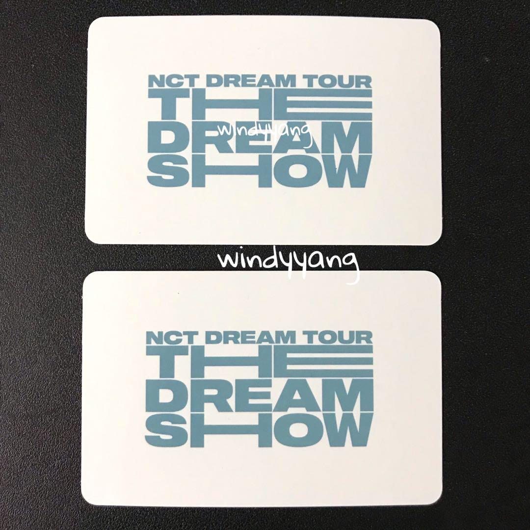 [WTS] NCT Dream The Dream Show Official Fortune Card