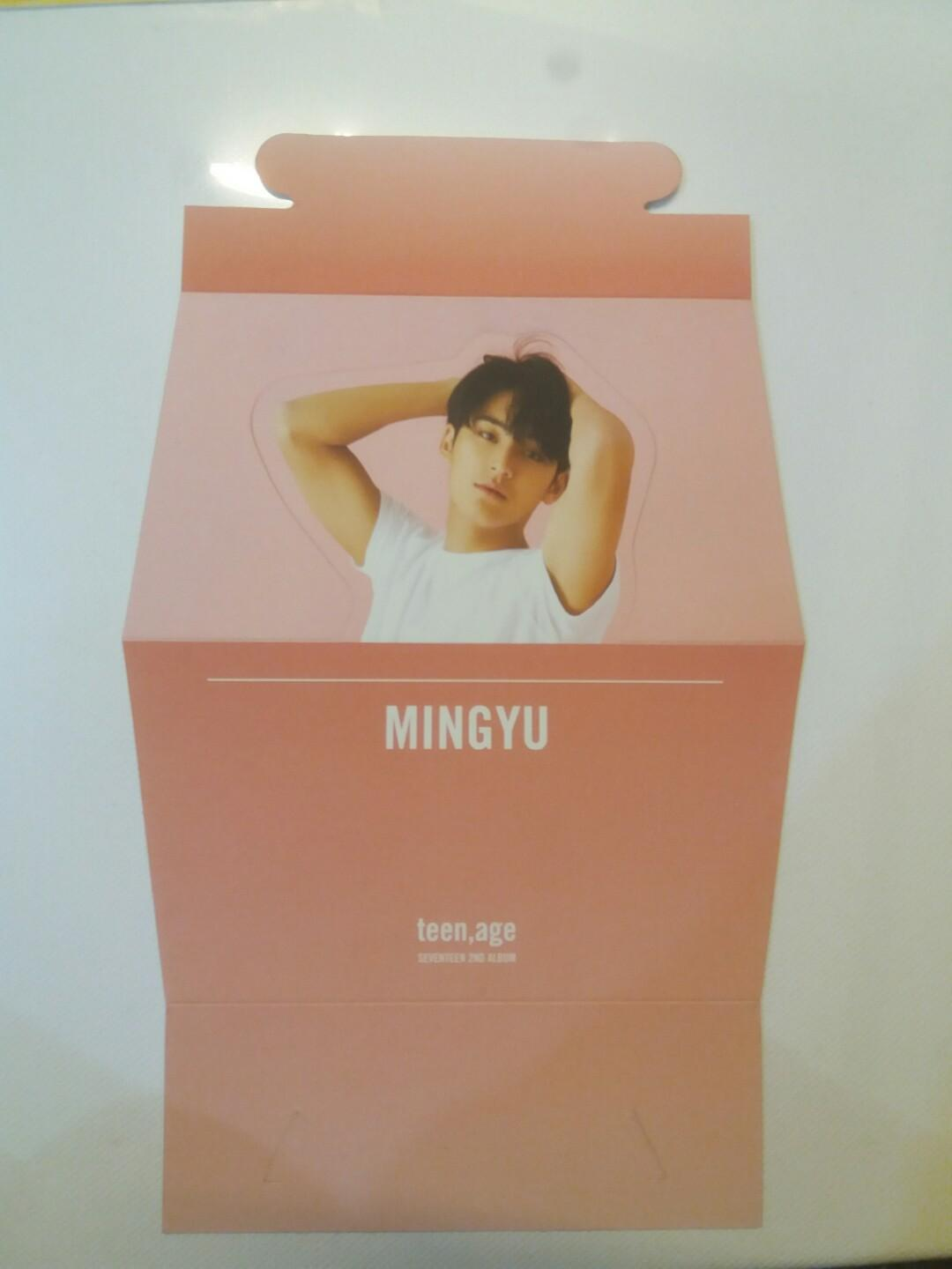 [WTS] OFFICIAL MINGYU STANDEE TEEN AGE SEVENTEEN 2ND ALBUM