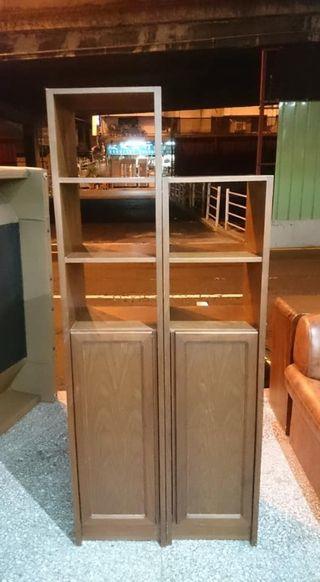 【健利傢俱行】書櫃 可拆組 雙面實木 二手書櫃 中古書櫃