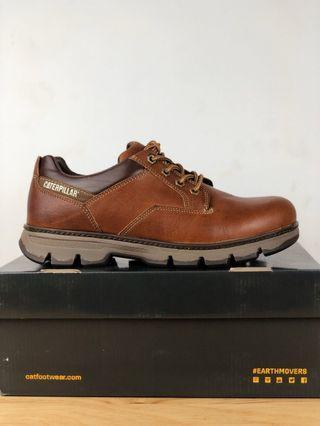 美國原廠正品 CAT 頭層進口油蠟牛皮鞋 卡特緩震戶外鞋 防滑橡膠底鞋 通勤運動鞋 39-44號