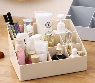 簡約 化妝品收納盒 客廳 桌面 彩妝 收納盒 辦公用品收納 整理盒 多功能收納 桌面收納盒