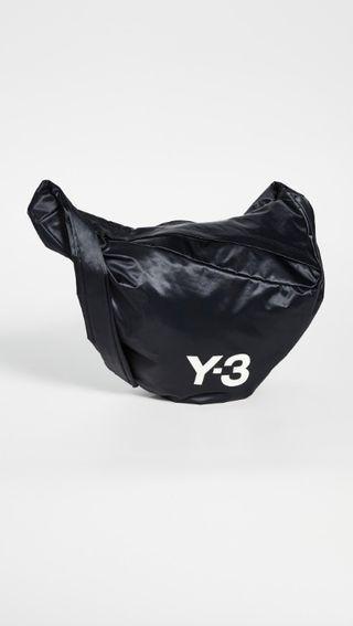 不敗時尚經典 ! Y3 精品頂級側背包!設計師限量版~