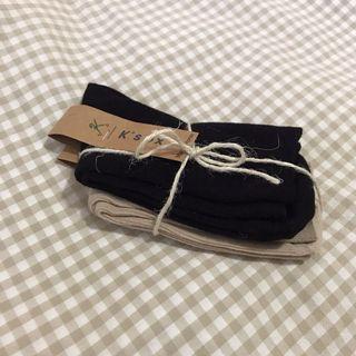 韓國🇰🇷坑條親膚長襪 兩色