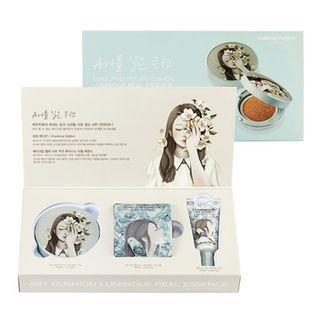 (出清)韓國Makeup helper ~光感氣墊防曬粉凝霜3件組合 23號