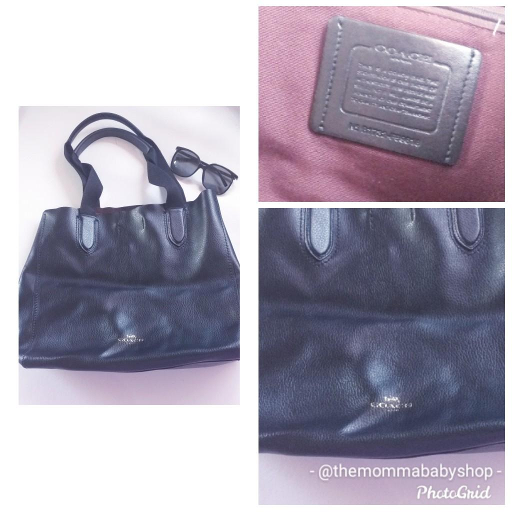 1700 only! Original Coach Vintage Leather Tote Bag from Canada