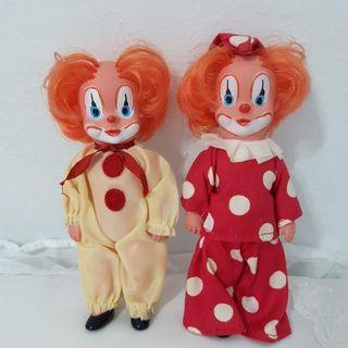 德國製小丑娃一對(歡迎以物易物)