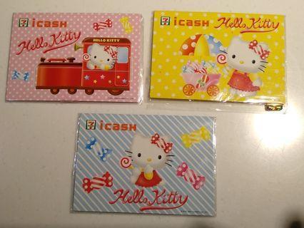 絕版收藏hello kitty套卡(一套三張不分售)