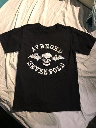 A7X t shirt band T-shirt S