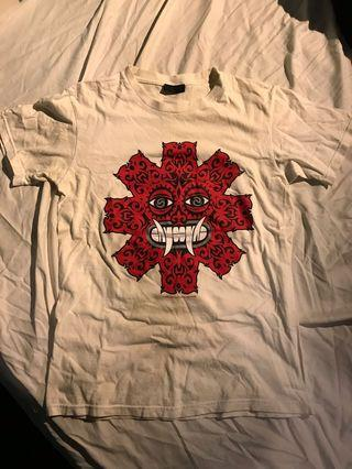 Red hot chili pepper band T-shirt