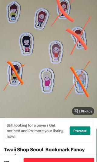 Twaii Shop Seoul  Bookmark Fancy Version