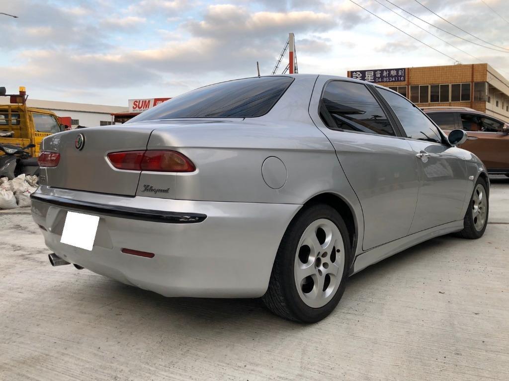 1999 Alfa Romeo 156 SS 2.0