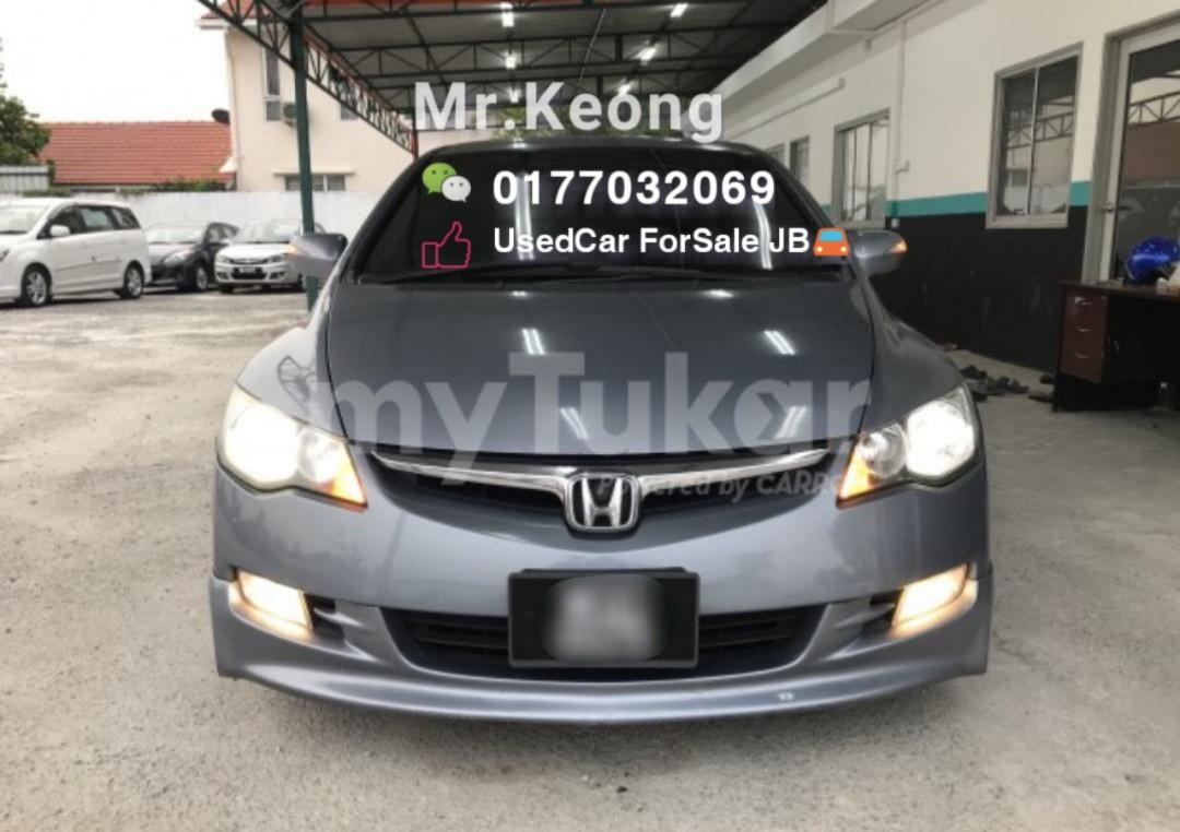 2008TH🚘Honda CIVIC 2.0 L I-Vtec(A)TYRE R FD TipTop Condition/BREMBO DISC🎉Cash💰OfferPrice💲Rm36,800 Only⚠️LowestPrice InJB🎉Call 📲KeongForMore🤗