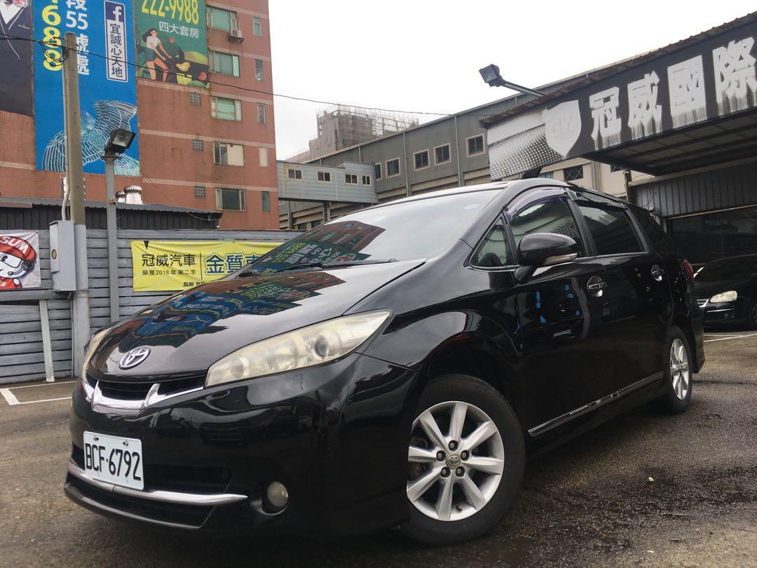 2012 Toyota Wish 2.0  高里程認證車全車原版件