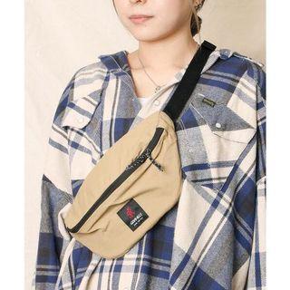 日本正品代購GRAMICCI 腰包小包側肩包肩背包側背包小袋輕便包黑色卡其綠色紫色GRB-0038防潑水