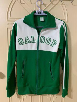 Galoop綠色運動外套