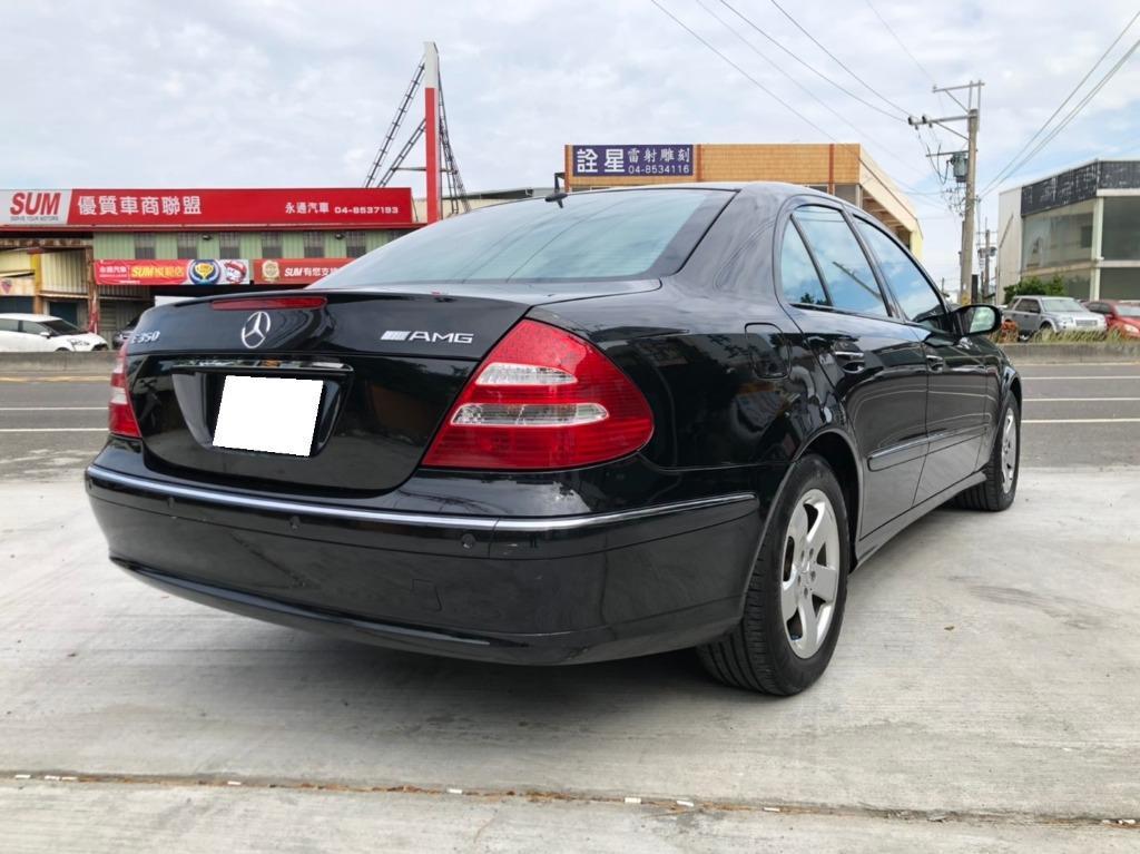 總代理 2006 年式 Benz W211 E350 買全新到現在一手車 原鈑件無傷無泡水