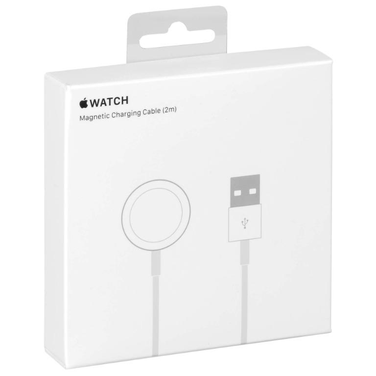 BEST OFFER!! Apple Watch Official Genuine Magnetic Charger to USB Cable 2m in Retail Box