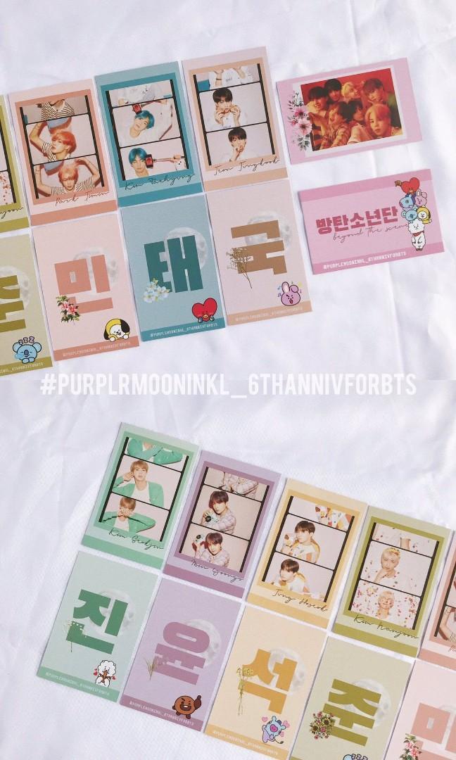 BTS Anniversary Donation Fankit Set B PurplemooninKL