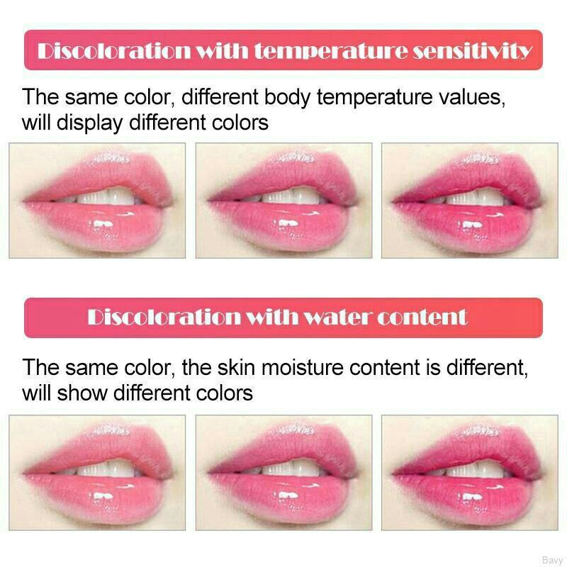 Crystal Jelly Long-Lasting Nutritious Lip Balm Lips Moisturizer Magic Temperature Colour Change Lip Gloss