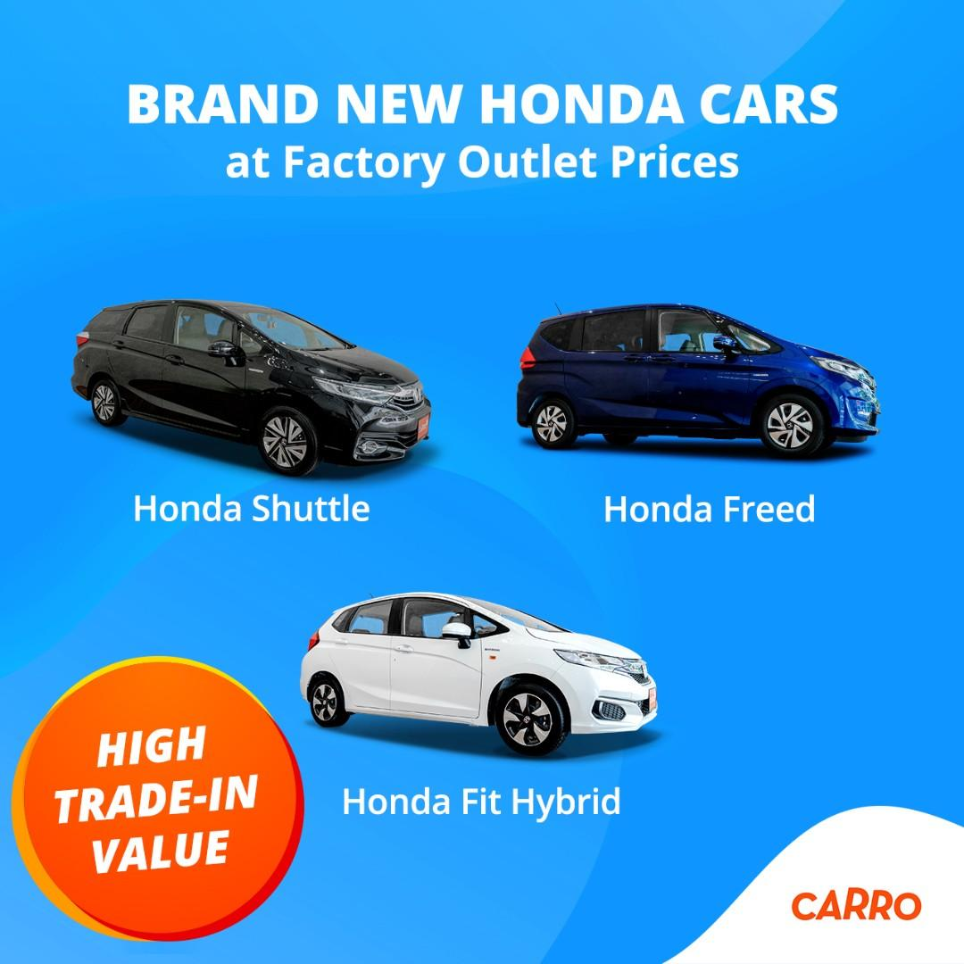 Factory Outlet Prices for a Brand New Honda Vehicle