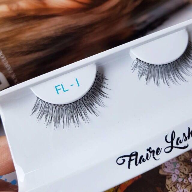 FLAIRE LASHES FL-I (BULUMATA PALSU SATUAN - FALSE EYELASHES)