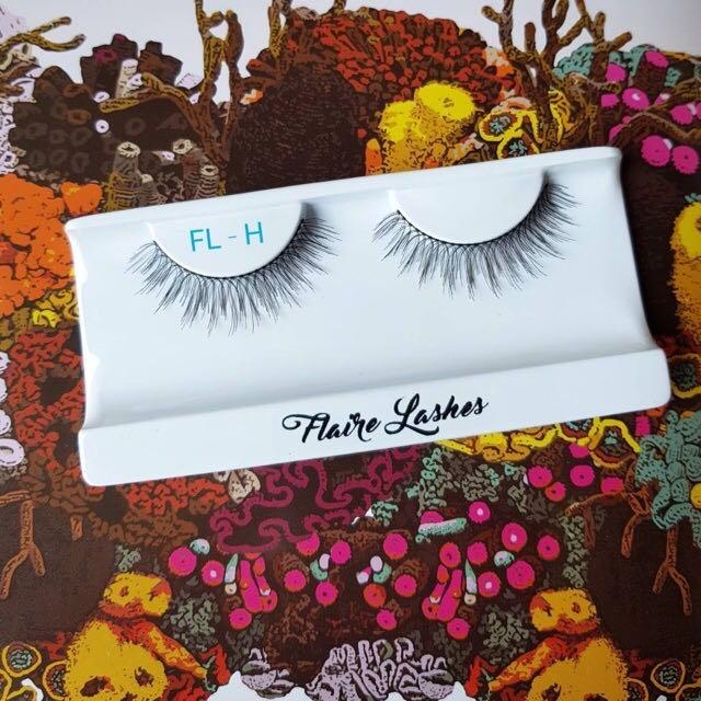 FLAORE LASHES FL-H (BULUMATA PALSU SATUAN - FALSE EYELASHES)