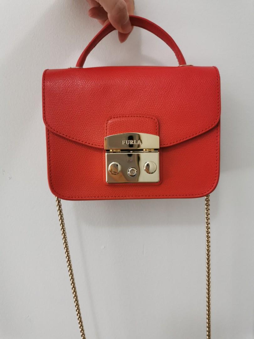 Furla Metropolis BNWT mini top handle crossbody/ handbag  authentic