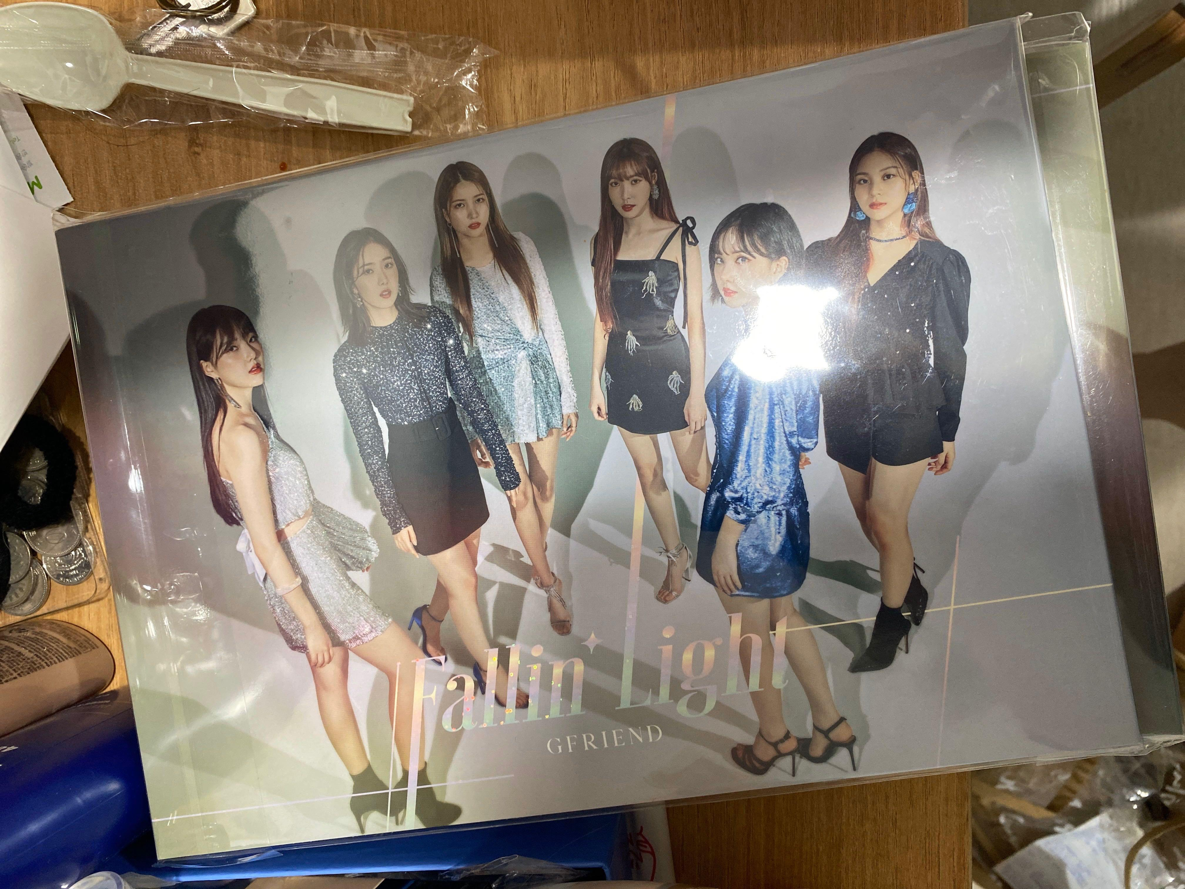 GFRIEND FALLIN LIGHT LIMITED VERSION AND WEB VERSION JAPAN ALBUM