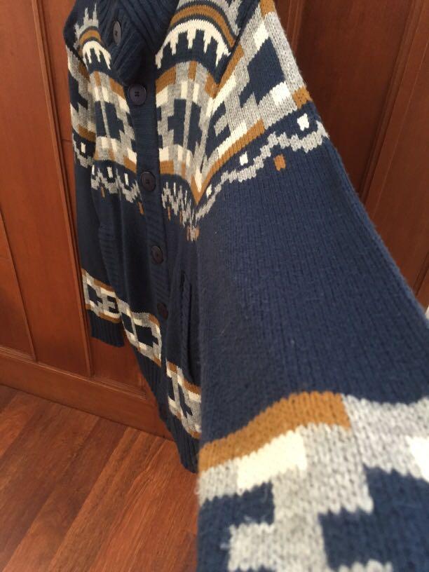 H&M Devide Wool Sweater Jacket