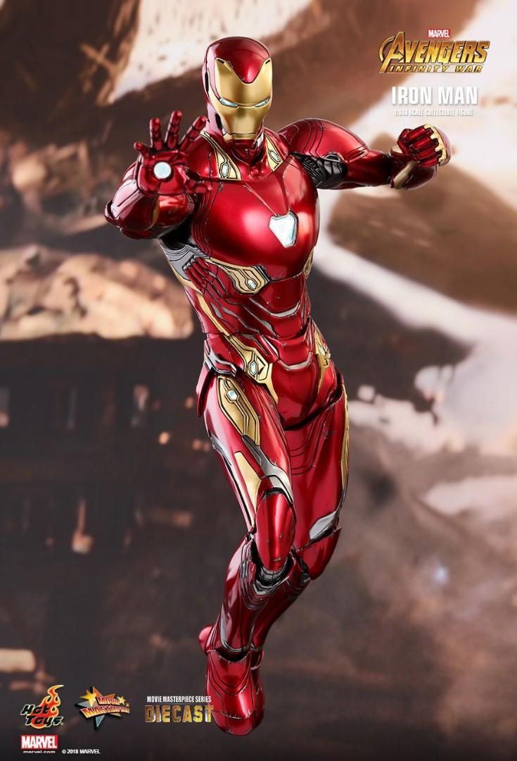 Hot Toys Iron Man Mark 50(Diecast)