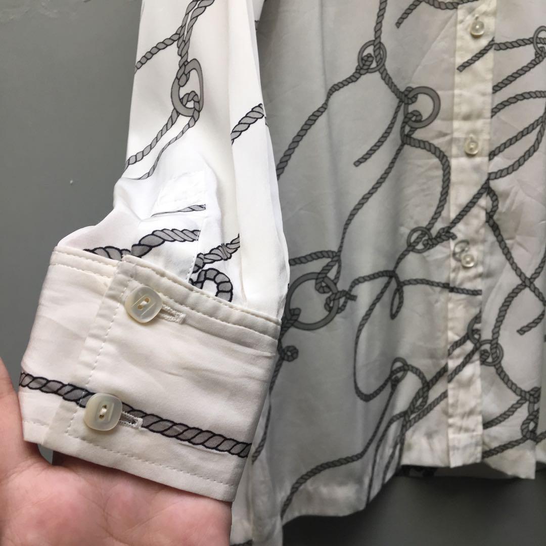 Kemeja Vintage pattern tali #1111special