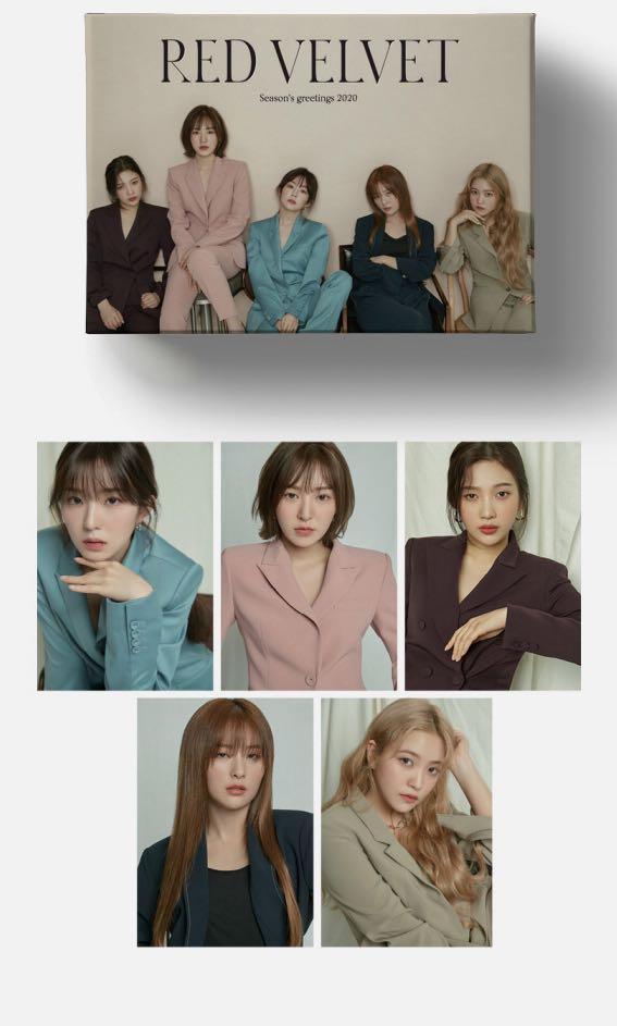 [Loose set] Red Velvet 2020 Season Greetings member set