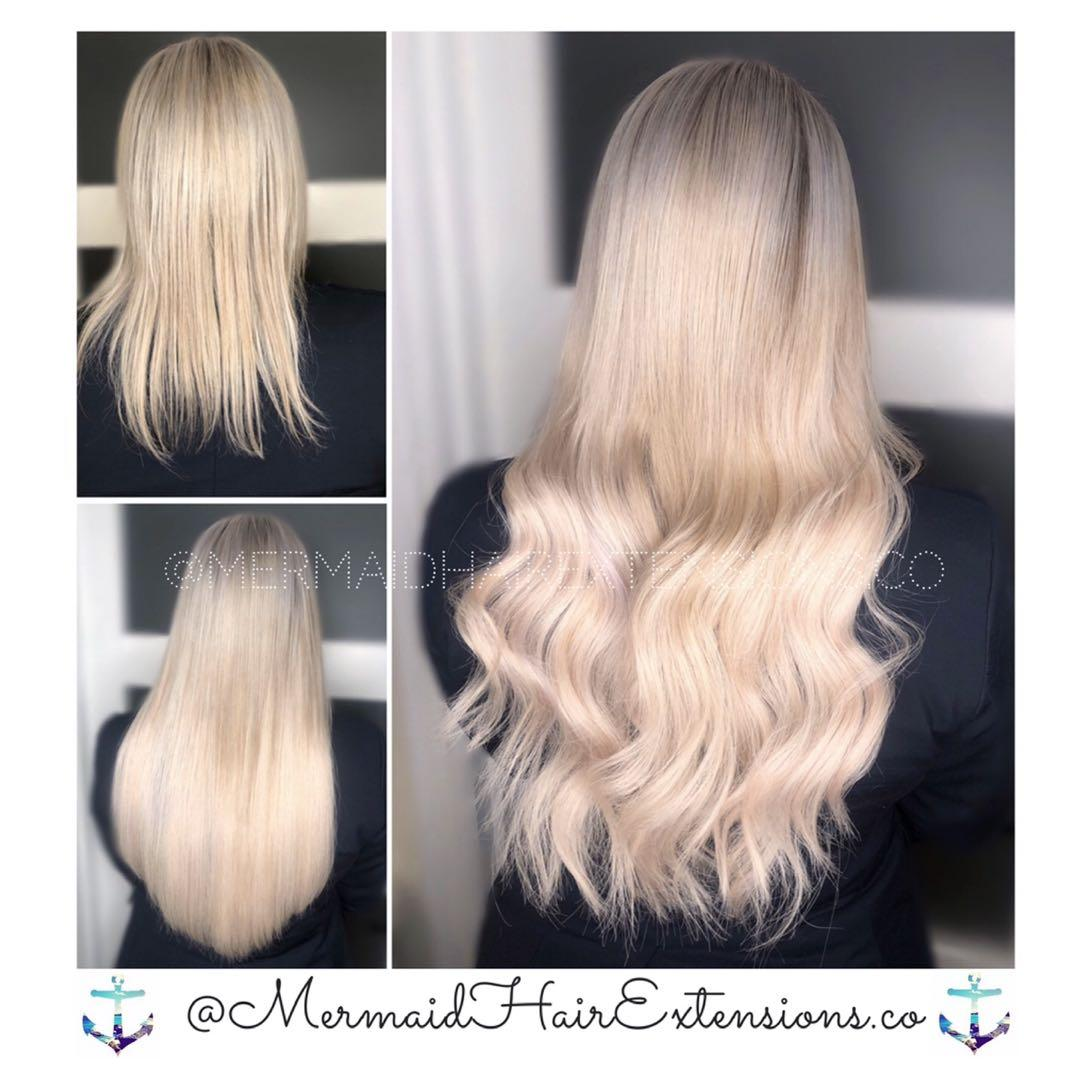 ✨MERMAID HAIR EXTENSIONS✨ Accepting New Clients ! ✨ $355 ✨