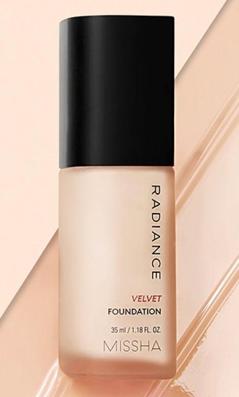 Missa Radiance Velvet Foundation 21