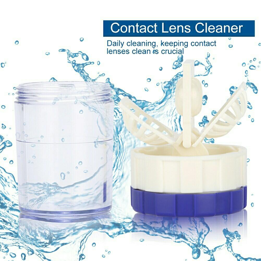 New Contact Lens Cleaner Manually Lenses Cleaning Washer