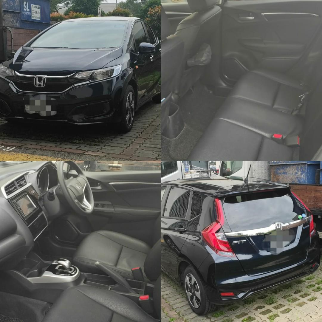 New Honda Fit Hybrid for Rent/LTO